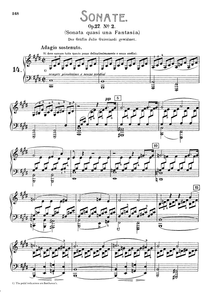 27 no.2 moonlight sonata in Moonlight+Sonata+Piano+sheet+music+Sonata ...